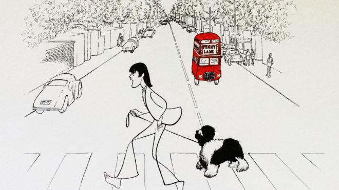 Paul McCartney, Al Hirschfeld