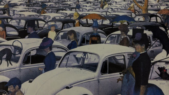Sunday Afternoon, Looking for the Car: The Aberrant Art of Barry Kite - Barry Kite