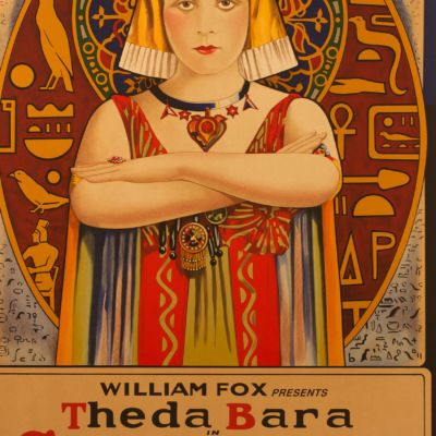 Cleopatra theda bara vintage movie poster original classic movie poster golden age of hollywood vintage one-sheet
