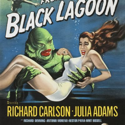 Creature from the Black Lagoon Classic movie poster vintage movie poster fine art film vintage poster