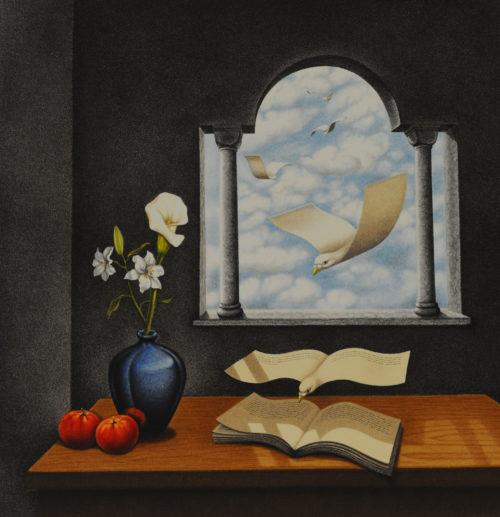 Rafal Olbinski Polish Poster surrealist surrealism dreamscape