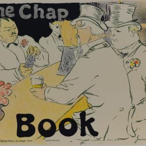 The Chap Book, Henri de Toulouse-Lautrec Belle Epoque vintage poster art fine art lithograph cabaret moulin roughe rue royale la plume rue bonaparte, paris jean pierre remond