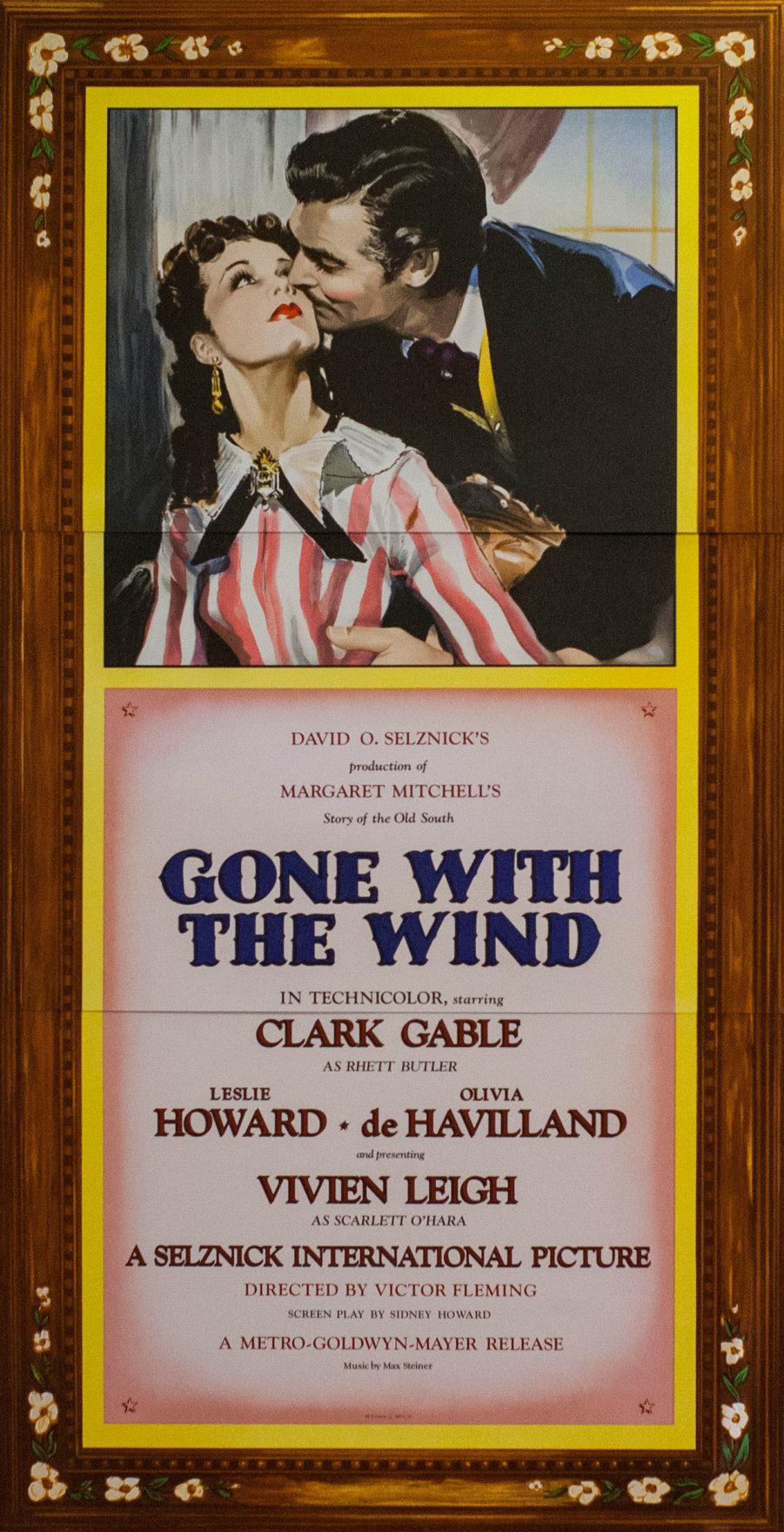 Rett Butler Scarlet O'hara Clark Gable Vivien Leigh Olivia deHaviland Civil War Classic Novel Classic Film
