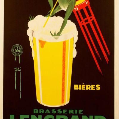 vintage advertisement fine art lithograph