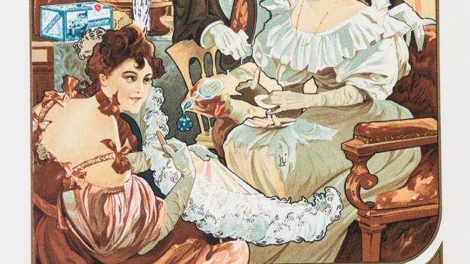 Biscuits Champagne, Alphonse Mucha