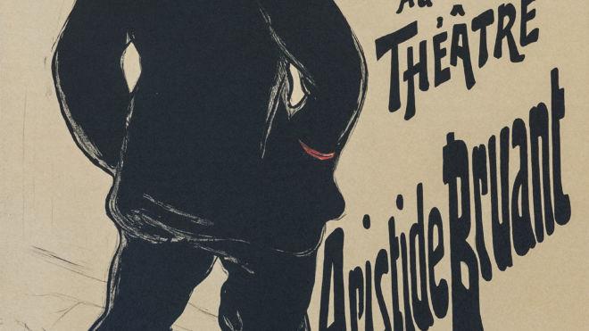Aristide Bruant Dans Son Cabaret, Henri de Toulouse-Lautrec