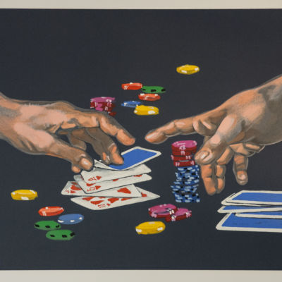 poker hands ace of hearts show your hand