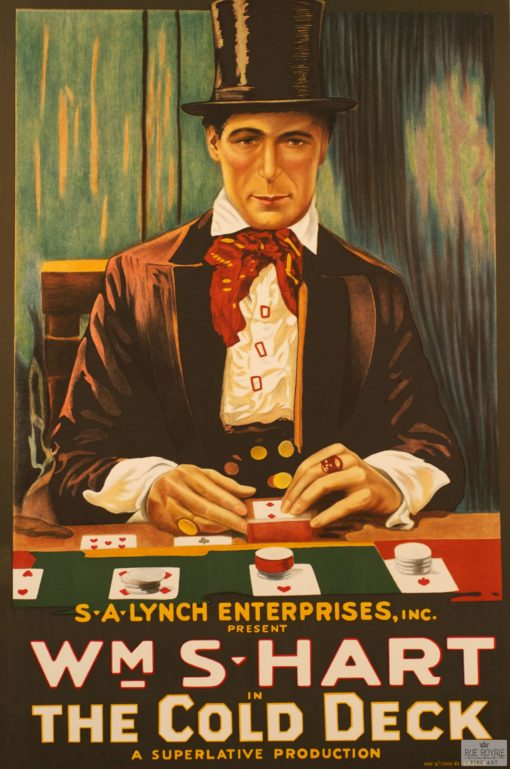 The cold deck gambling card game Classic movie poster vintage movie poster fine art film vintage poster