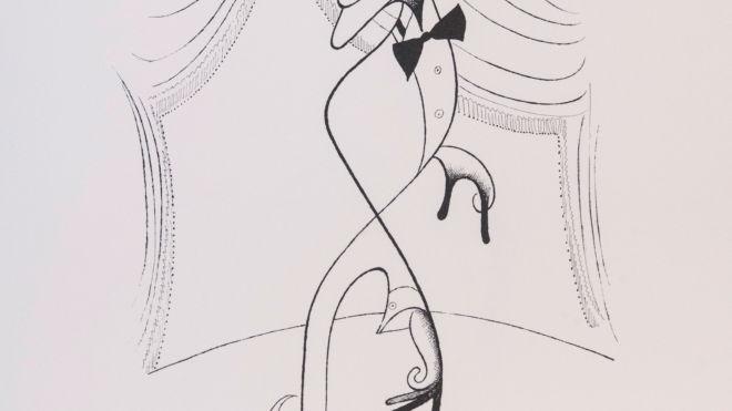 Sammy Davis Jr., Al Hirschfeld