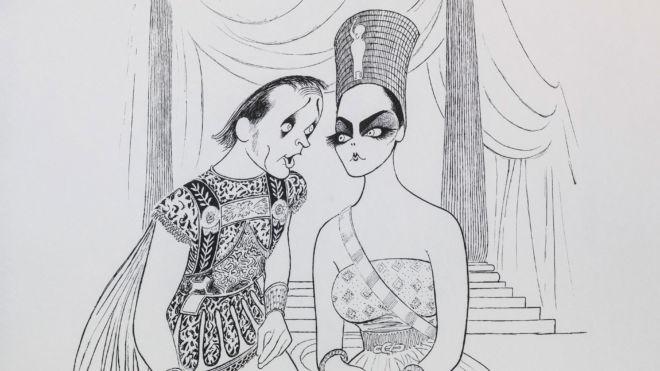 Antony and Cleopatra,  Al Hirschfeld