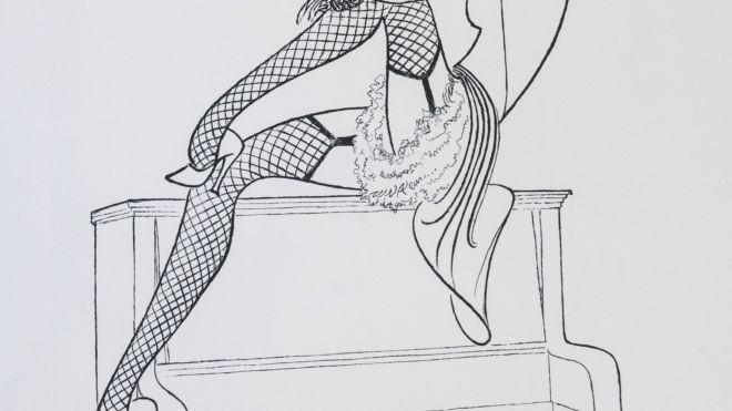 Marlene Dietrich - Lili Marlene, Al Hirschfeld