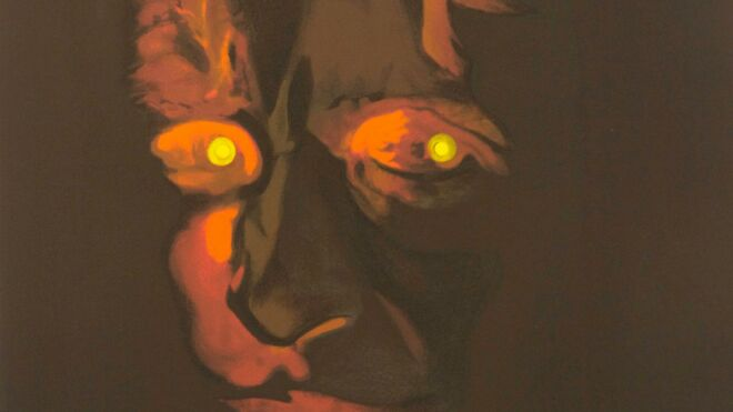 The invisible Man (H.G. Wells) Teaser Digital Print