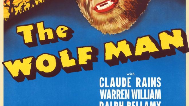 The Wolf Man (George Waggner) Digital Print