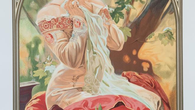 LeFevre-Utile (Sarah Bernhardt), Alphonse Mucha