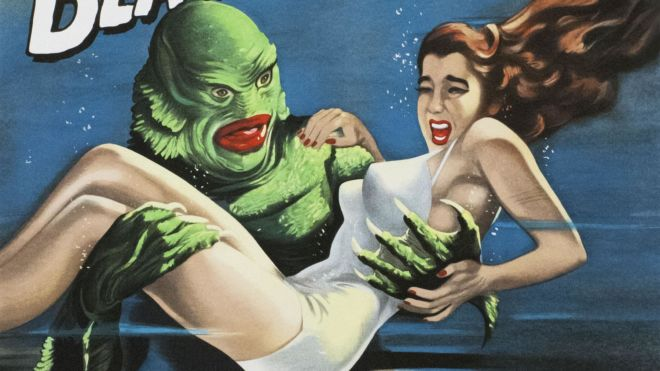 Creature from the Black Lagoon (Jack Arnold) Digital Print