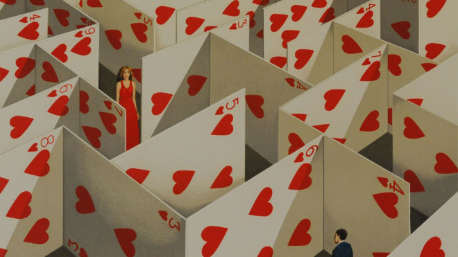 Illusive Specificity of Random Compliment (Maze of Cards)