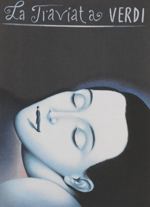 Rafal Olbinski Polish Poster surrealist surrealism dreamscape opera