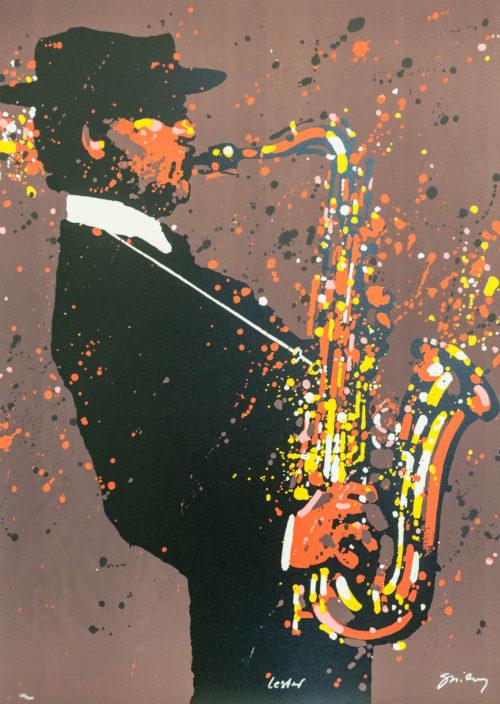 "Waldemar Swierzy Lester Willis Young ""Pres"" or ""Prez"", jazz tenor saxophonist clarinetist saxophone"