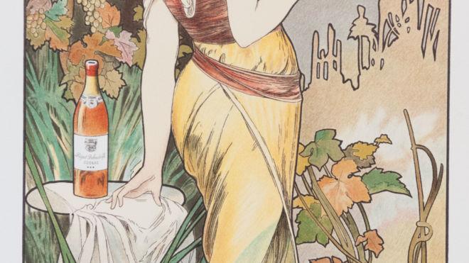 Cognac Bisquit,  Alphonse Mucha