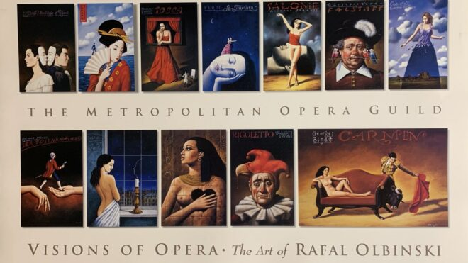 Visions of Opera, The art of Rafal Olbinski (V2) Digital Print