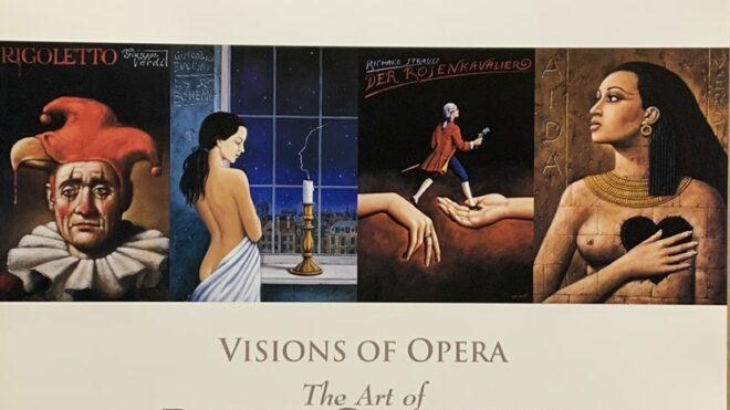 Visions of Opera, The art of Rafal Olbinski Digital Print