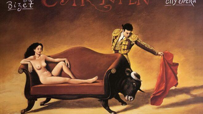 Carmen (Georges Bizet) Digital Print