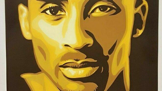 """GOLD"" Kobe Bryant Poster"